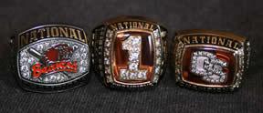 John Wallace's Championship Rings